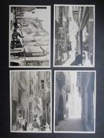 LOT 4 PHOTOS ESPAGNE ANNéES 50 (M1415) MALLORCA - RUE DE PALMA (5 Vues) - Places