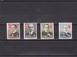 Cuba Nº 480 Al 483 - Cuba