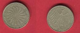 10DM  (KM 134) TB+ 18 - [ 7] 1949-… : FRG - Fed. Rep. Germany