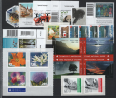 Svizzera 2011 14 Emissioni / Issues **/MNH VF - Nuovi