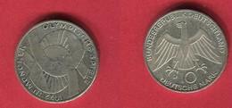 10DM   (KM 131) TB+ 12 - [ 7] 1949-… : FRG - Fed. Rep. Germany