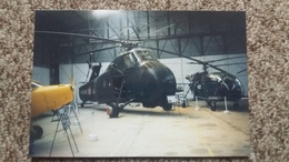 PHOTO AGFA D  HELICO HELICOPTERE H SS 1 SIKORSKY CARGOT ARMEE DE L AIR FRANCAISE - Aviation