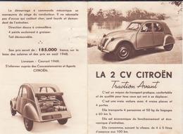 2CV Citroën - Werbung