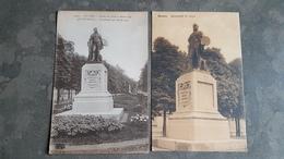Lot 2x Postkaart Postkaarten Antwerpen Anvers ( Standbeeld Van Baron Leys ) - Antwerpen