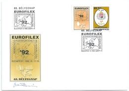 B7226 Hungary SPM Philately Stamps Day Exhibition Geography RARE - Giornata Del Francobollo