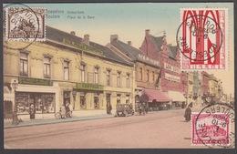 CPA -  Belgique,  ROULERS / ROESELARE, Place De La Gare - Roeselare