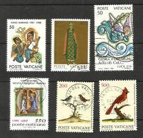 Vatican N°831, 837, 843, 849, 854, 856 Cote 4.40 Euros - Vatican