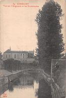 Corbigny Vue Sur L'Anguison Et Les Promenades - Corbigny