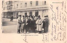 CONTREXEVILLE (88) - Le SHAH De PERSE Et Sa Suite - Précurseur 1902 - Frankreich