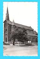 CPSM RANSBERG : Kerk O.L.Vr. Van De H. Rozenkrans -  Uitg. D. Point, Handelaar, Dorpstraat 87 - Foto Biltz - Kortenaken