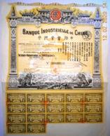 ACTION BANQUE INDUSTRIELLE De CHINE - Banque & Assurance