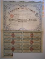 ACTION - BANQUE De La SEINE - Banque & Assurance