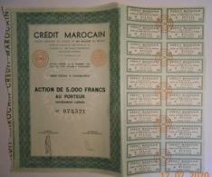 ACTION - CREDIT MAROCAIN - MAROC à Casablanca - Banque & Assurance