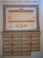 ACTION - BANQUE H.L. De LESTAPIS 1931 - Banque & Assurance