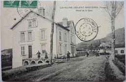 HÔTEL DE LA GARE - LAVELINE DEVANT BRUYÈRES - Frankreich