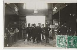 AMIENS CARTE PHOTO Foire Exposition 1926 Visite Des Autorités Au Stand Du Café Jihair - Amiens