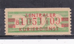 DDR, Dienst: ZKD Nr. 31a II  B** (T 14730) - DDR