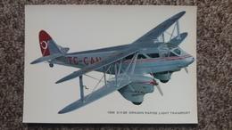 CPSM AVION 1934 D H 89 DRAGON RAPIDE LIGHT TRANSPORT CYZ - 1919-1938: Entre Guerres