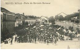 PORTUGAL-POSTCARDS-  SANTARÉM---TORRES NOVAS--PARTE DO MERCADO SEMANAL - Santarem