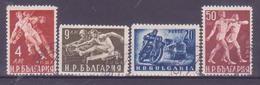 73-764 / BG - 1949  SPORTS  Mi 704/07 O - 1945-59 République Populaire