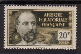 AFRIQUE EQUATORIALE FRANCAISE - AEF - A.E.F. - 1937 - YT 62** - A.E.F. (1936-1958)