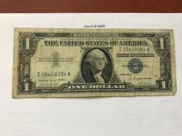 United States $1.00  Banknote 1957 A  #13 - Certificats D'Argent (1928-1957)
