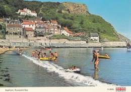 Postcard Seafront Runswick Bay Nr Whitby  My Ref  B24087 - Autres