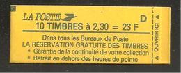 France, 2614-C2, Numéroté, Carnet Neuf, Non Ouvert, TTB, Conf. 8, Réservation Gratuite, Carnet Marianne De Briat - Usage Courant