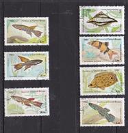 Philatélie Afrique Guinée-Bissau De 1983 Série N° 245 à 251° - Guinée-Bissau