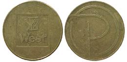 02966 GETTONE TOKEN JETON SIGARETTE CIGARETTE MACHINE WEST - Germany