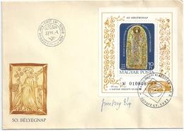 B7252 Hungary FDC Philately Culture Book Chronic Art Museum RARE - Giornata Del Francobollo