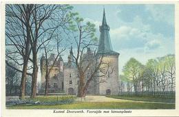 Doorwerth, Kasteel Doorwerth Voorzijde Met Binnenplaats - Netherlands