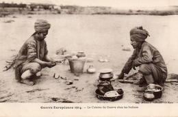 CPA Guerre 14 Européenne Grande Cuisine De Guerre Chez Les Indiens - War 1914-18