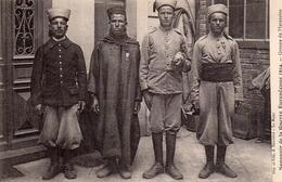 CPA Guerre 14 Européenne Grande Groupe De Marocains - War 1914-18
