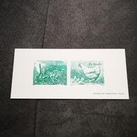 FRANCE FDC GRAVURE épreuve 1er Jour Nature : Animaux De La Ferme 2004 - Collection Timbre Poste - FDC
