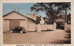 CPA SEPTEMES ( B Du Rh ) - Fabregoules - Entrée De La Maison De Repos - Quartiers Nord, Le Merlan, Saint Antoine