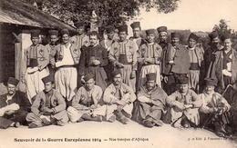 CPA Guerre 14 Européenne Grande Souvenir Nos Troupes D'afrique - War 1914-18