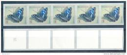 OCB Nr 4290 Fauna Butterfly Papillon Vlinder / Bande   - Strook  MNH !!! (Number Will Be Different !!) - Franqueo
