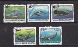 Philatélie Afrique Guinée-Bissau De 1984 Timbres N° 307, 308, 310, 312, 313° - Guinea-Bissau