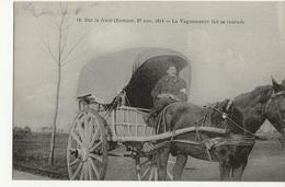 Sur Le Front (Somme) 27 Novembre 1914 - Le Vaguemestre Fait Sa Tournée - France