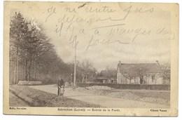 45-REBRECHIEN-Entrée De La Forêt...1935  Animé  (défaut) - France