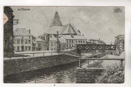879,  Weltkrieg 1914-18, Feldpostkarte, Le Chesne (Ardennes) - Oorlog 1914-18