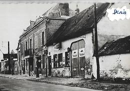 CPSM  60 TROISSEREUX  Pompe à Essence  Pub MOBIL - Autres Communes