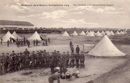 CPA Guerre 14 Européenne Grande Belges Cantonnement Anglais - War 1914-18