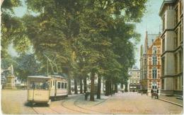 S'-Gravenhage 1914; Plein (Tram) - Gelopen. (uitgegeven In Hamburg) - Den Haag ('s-Gravenhage)