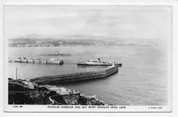 Douglas Harbour And Bay From Douglas Head - Tuck I.O.M. 420 - Isle Of Man