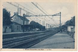 91 SAINTE GENEVIEVE DES BOIS La Gare - Sainte Genevieve Des Bois