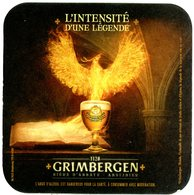 Grimbergen. 1128. L'intensité D'une Légende. Bière D'abbaye. Abdijbier. RCS Strasbourg. France. - Sous-bocks