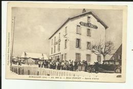 01 - Ain - Echallon - Hotel Poncet - Sports D'Hiver- Voiture- Animée - - Frankrijk