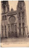 Chartres Le Cathédrale Portail Royal Edit L.Chouvy  Envoyée Ca 1925 - Chartres